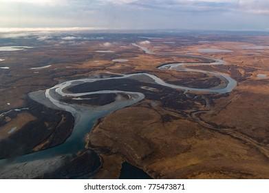 Yamal Peninsula. Russia
