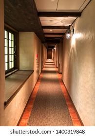 Yamanashi, Japan, 11th, May, 2018. Interior shot of La Vista Fuji Kawaguchiko, La Vista is located in Fujikawaguchiko and near Lake Kawaguchi.