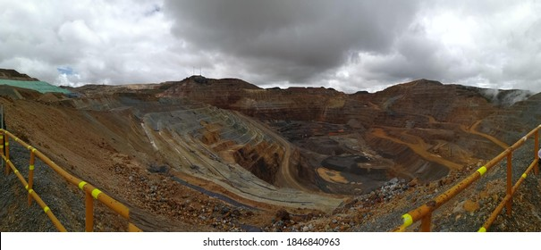Yanacocha, is a mine of gold in the southamerican