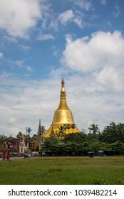 Yangon ,Bago, Myanmar view of Pagoda