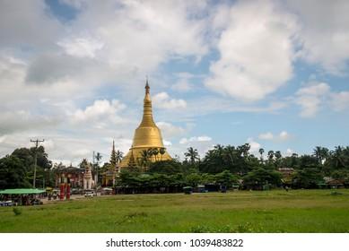 Yangon Bago, Myanmar view of Pagoda