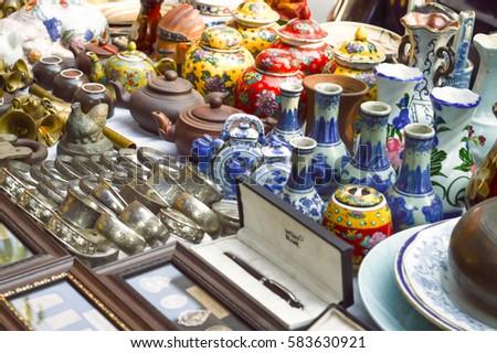Yangon Myanmar March 4 2016 Antique Stock Photo Edit Now 583630921