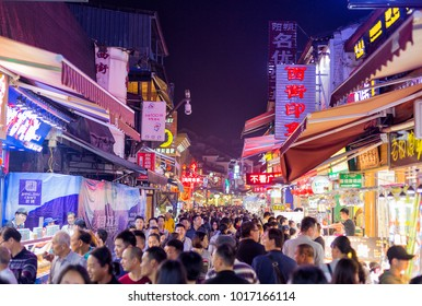 YANGSHOU CHINA - NOVEMBER 9, 20167: West street is a main commercial street with restaurants bars and gift shops.