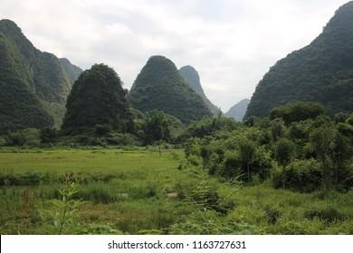 Yangshuo, China Landscape
