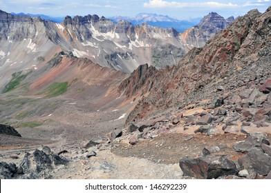 Yankee Boy Basin, San Juan Range, Rocky Mountains, Colorado