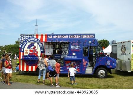 Yankee Doodle Dandys Chicken Tenders Truck Stock Photo Edit Now