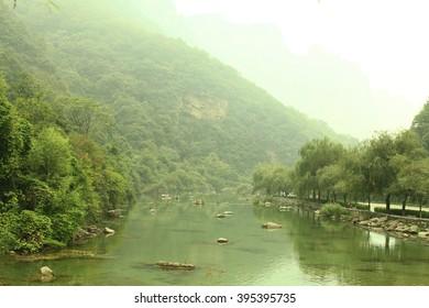 Yantaishan national park in X'an China