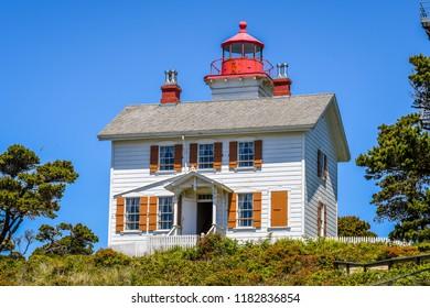 Yaquina Bay Lighthouse, Oregon-USA