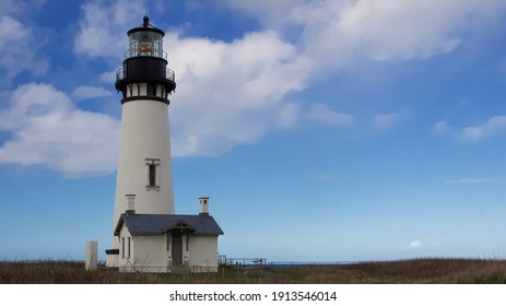 Yaquina Head Lighthouse is located on the Oregon Coast in Newport.