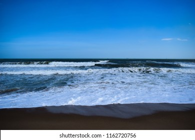 Yarada Beach at Visakhapatnam (vizag), Andhra Pradesh, India, Asia. The beach is secluded, beautiful, has shacks, has clear waters - a must go for all vizag travelers