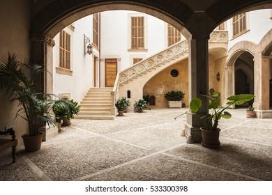 Yard, Palma de Mallorca, Spain