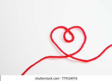 Yarn,knit Heart