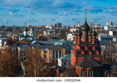Yaroslavl is ancient Russian city. Sunlight day