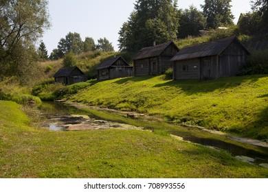 Yaroslavl, Golden Ring of Russia,  village Vyatka, Yaroslavl region