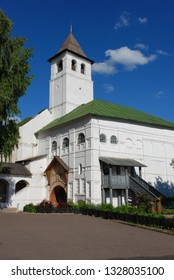 Yaroslavl, Russia - July 13, 2008: Savior Transfiguration Monastery