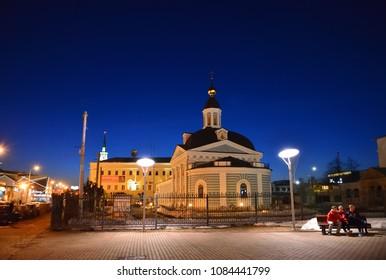 Yaroslavl, Russia - March 27. 2016. Church of Presentation of Lord Ascension Parish