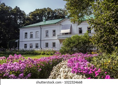 Yasnaya Polyana, Russia - August 2017: Home of the writer Leo Tolstoy