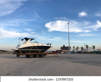 Yatch is taken to the Berth