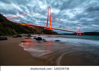 Yavuz Sultan Selim Bridge , Istanbul, Turkey