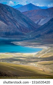 Yaye Tso lake in Ladakh region of India