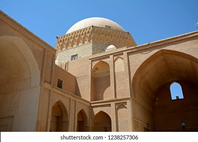YAZD, IRAN - SEPTEMBER 3: Alexander's prison at 3 September, 2018 at Yazd, Iran. Alexander's prison is an old school, but legendery Alexander, the Great was held here as a prisoner.