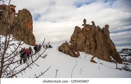 01/20/2019,Eskişehir,Turkey,Because of Yazilikaya Monument, Yazazilikaya village is also called Midas City or Midas City. Yazilikaya Monument is located in the borders of ancient Phrygian Valley
