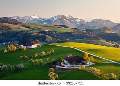 Ybbs, Alps, Austria