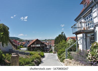 Yburg in Rems-Murr-Kreis, Baden-Württemberg, Germany – June 8, 2019: On the yay to Yburg.