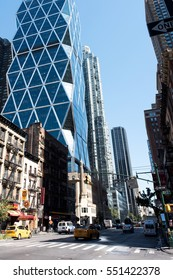 YC, New York: August 28, 2016: Manhattan, New York City. New York City is the most populous city in the United States.