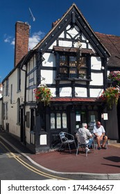 Ye Olde Anchor Inn, Upton-upon Severn, Worcestershire, England. 19th July 2013