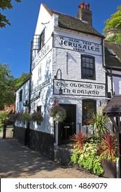 Ye Olde Trip To Jerusalem Inn (Nottingham, England)