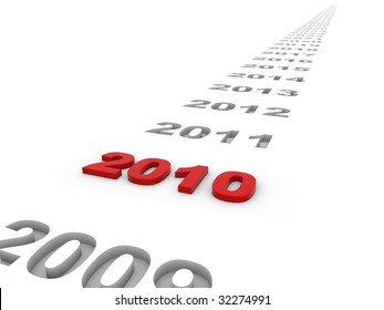 The year 2010 and the years ahead.