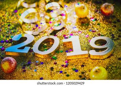 year 2019 decoration