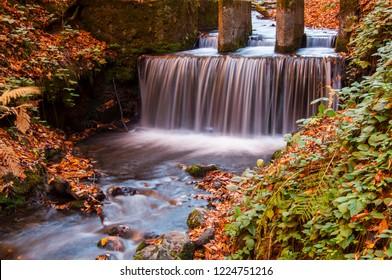 Yedigoller National Park, Autumn views. Bolu, Turkey.