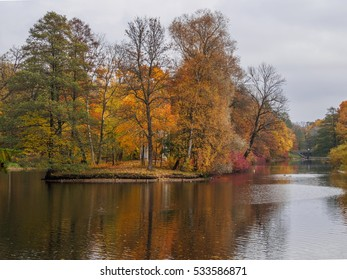 Yelagin park in Autumn
