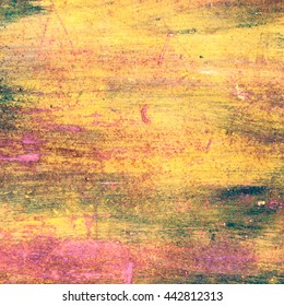 yellow abstract texture wall vintage