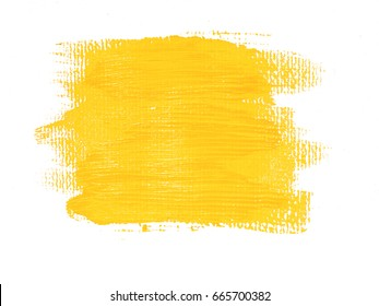 Yellow acrylic background. Element for different design