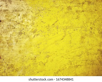 Yellow background abstract of art