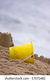 Yellow Beach Pail