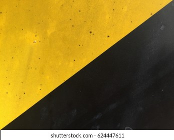 yellow and black.