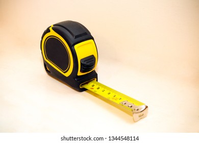 Yellow and black tape measure