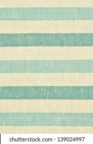 Yellow and blue striped fabric texture