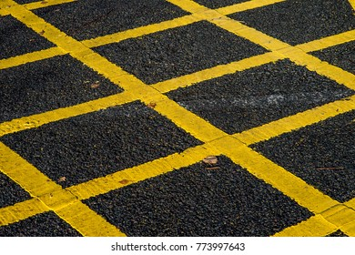 Yellow Box Keep Clear Road Markings