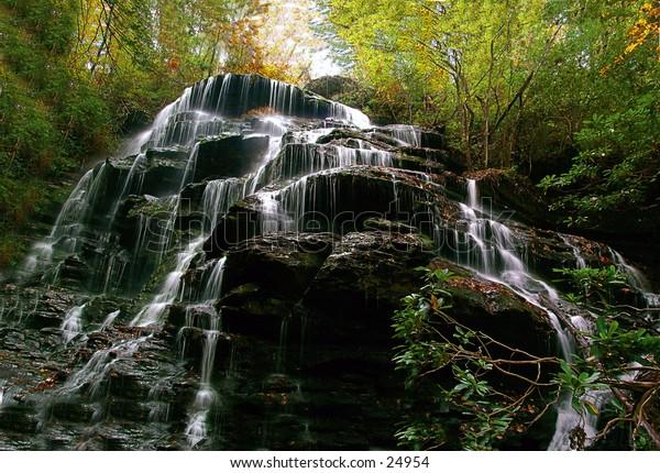 Yellow Branch Falls South Carolina.