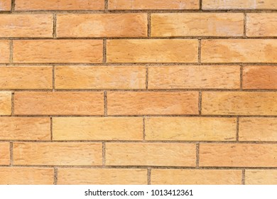 yellow brick facing
