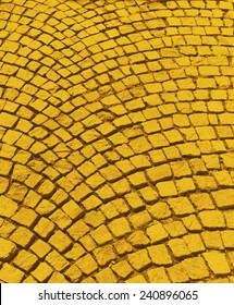 Yellow brick road from The Wizard of OZ