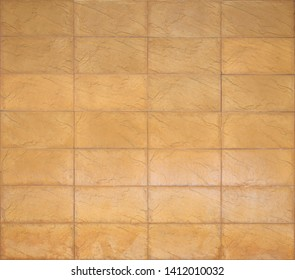 Yellow brick stone texture background.