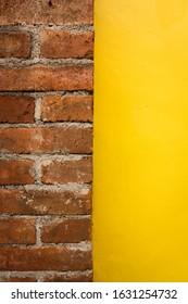 Yellow and Brick - Yogyakarta, Indonesia