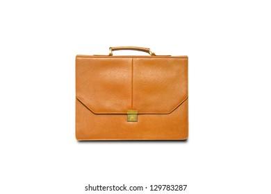 Yellow business bag