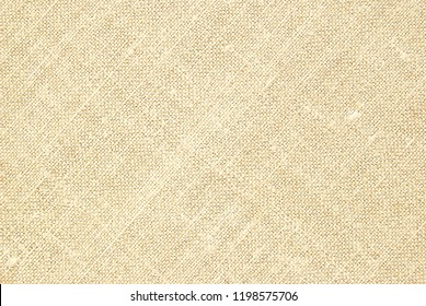 Yellow canvas fabric for background, linen texture background